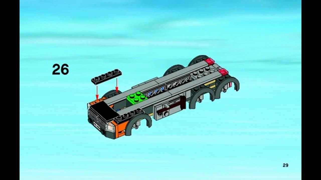 Lego City - Instructions for 4434: Tipper Truck - YouTubeLego City Truck Instructions