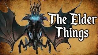 The Elder Things - (Exploring the Cthulhu Mythos)