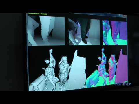Microsoft Research Lab - Kinect Fusion Project