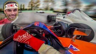 WHAT A MESS! - NASKA VS SALVADORI CAR RACE- FINAL BATTLE - RACING IS LIFE EP.34 [English Subtitles]