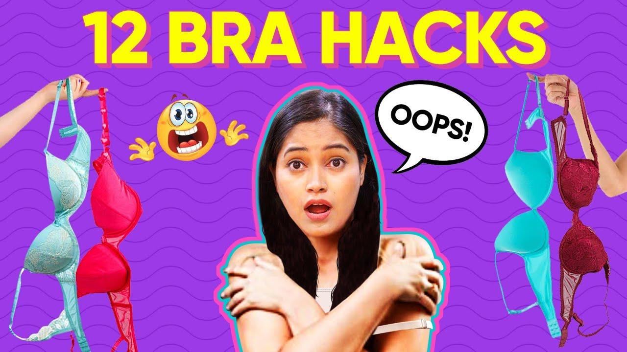 आपकी ब्रा का Size 100% गलत है😮Demo How to measure Bra size👙New Bra Hacks हर लड़की को पता होना चाहिए
