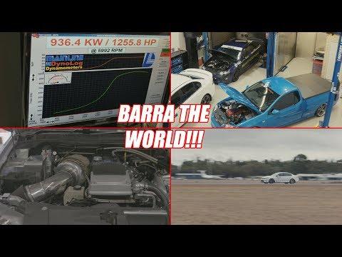 Barra the World! - Monsta Torque Workshop Tour