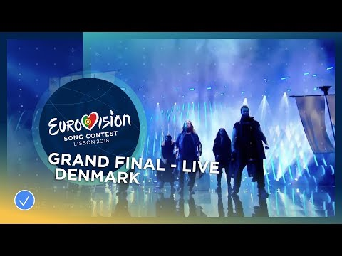 Rasmussen - Higher Ground - Denmark - LIVE - Grand Final - Eurovision 2018
