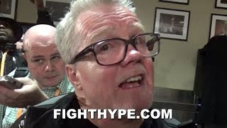 FREDDIE ROACH EXPLAINS HOW GOOD TYSON FURY REALLY IS; INSISTS WILDER REMATCH WILL BE DIFFERENT