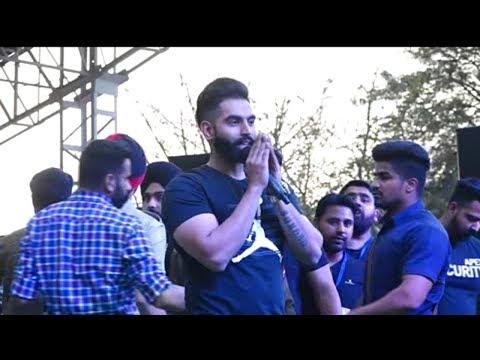 ' Gaal ni Kadni'  fame Punjabi singer Parmish Verma enthralls Jammu youth