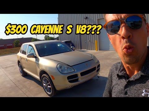 Can This $300 Porsche Cayenne S Be Saved? Hooptie Rescue Mission!