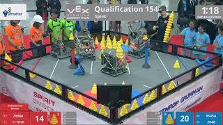 2018 VRC-MS Spir Q154 - 7998A 11101A vs 9545A 394B - 127 to 44