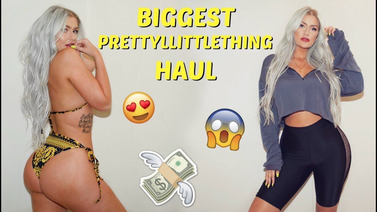 06361b19144  300 PRETTY LITTLE THING try on HAUL!!!!!! - YouTube