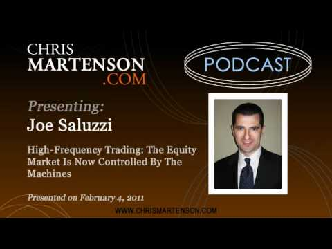 Joe Saluzzi on High-Frequency Trading: The Equity Market Is Now Controlled By The Machines