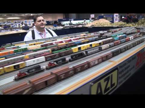 National Train Show 2011 Z-scale Action, part 2