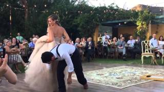 the best wedding first dance ever