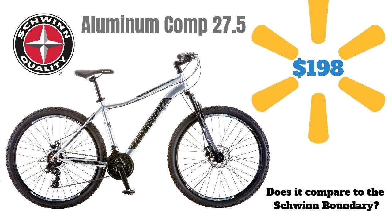 $198 Schwinn Aluminum Comp 27 5 MTB available at Walmart