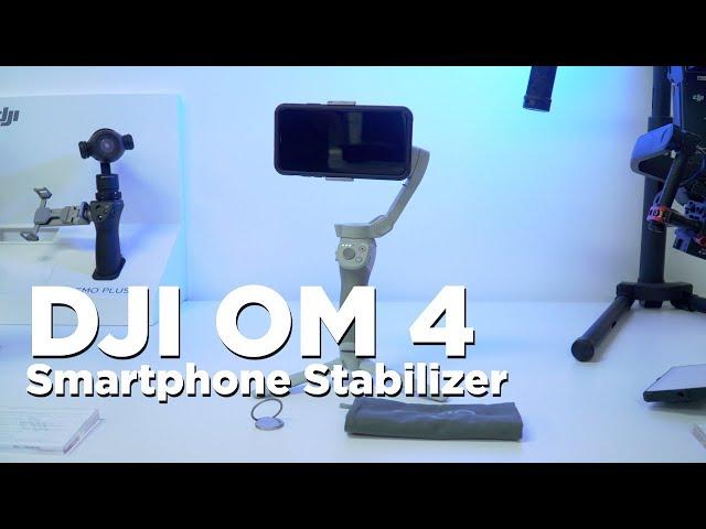 DJI OM 4   Stabilized Smartphone Gimbal