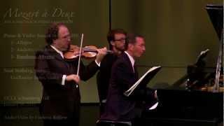 Mozart Piano & Violin Sonata in E flat K.380 - Stulberg/Sutre