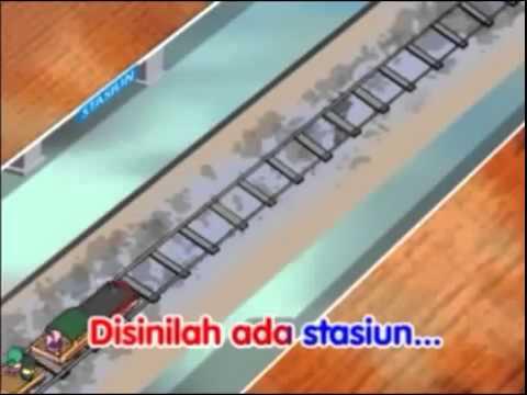 Naik Kereta Api   Video Lagu Anak Anak