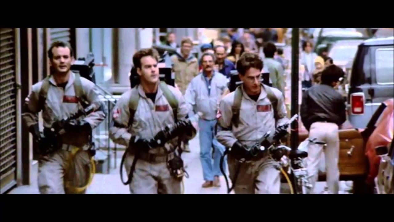 Ghostbusters  Theme Song Montage  YouTube