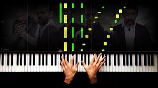 No.1 - Hiç işık yok - Çukur Müziği - Piano Tutorial by VN