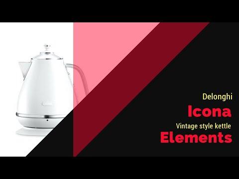 Delonghi icona elements kettle
