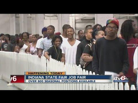 Find seasonal work at Indiana State Fair