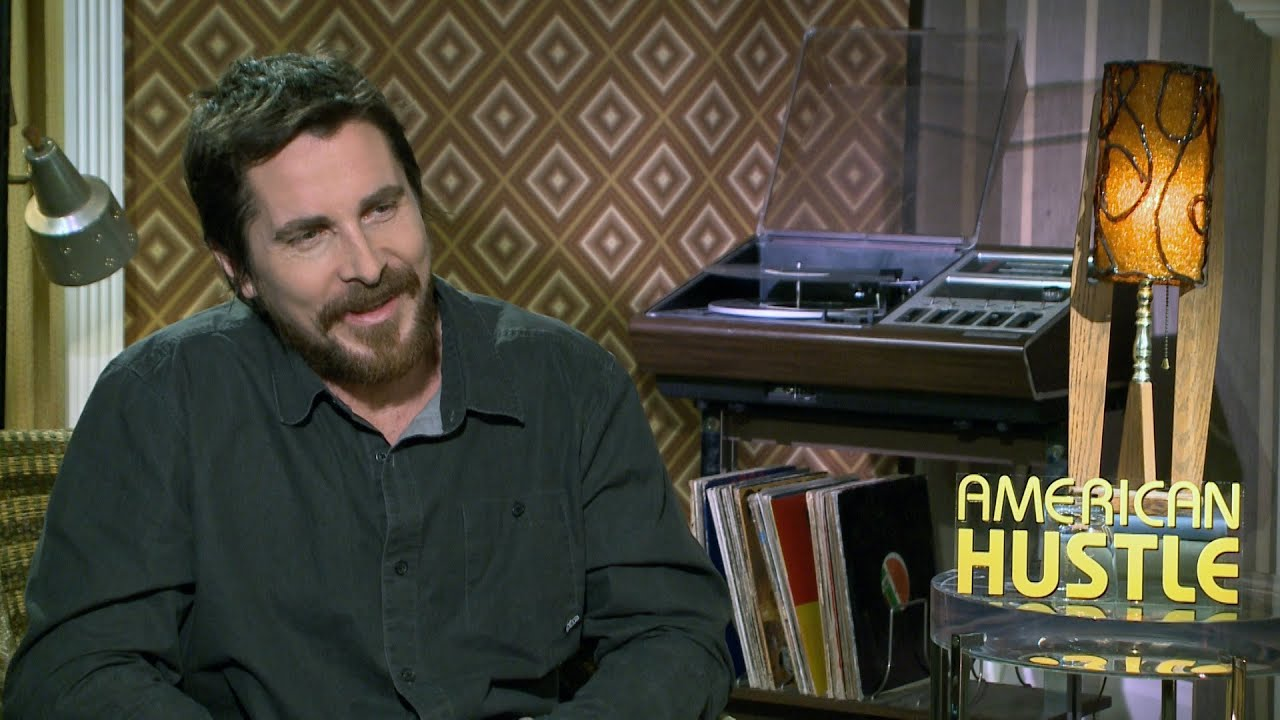 american hustle christian bale interview youtube