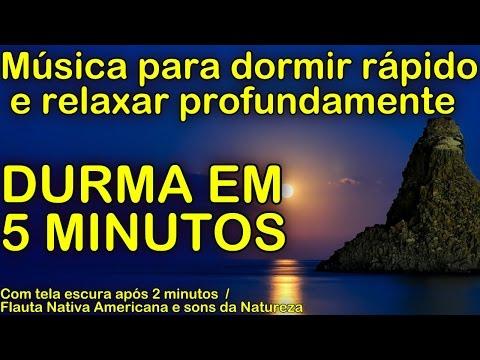Musica para dormir rápido e relaxar profundamente DURMA EM 5 MINUTOS (c/ som da natureza e flauta)