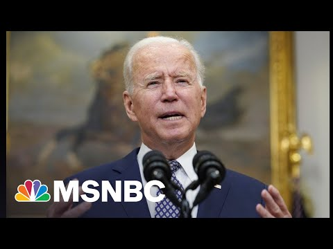 Fierce Pressure On Biden As He Holds To August 31 Withdrawal