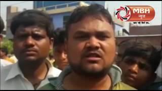 speeding bus killed bike riders in Kanpur  # Video
