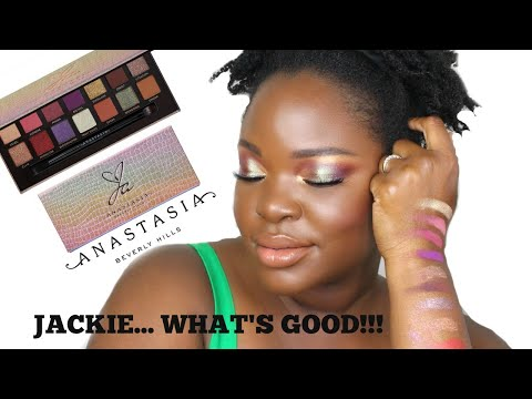 Jackie Aina x ABH Palette Review | Jackie!!! Whats Good??? | Le Beat thumbnail