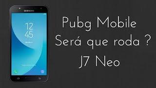 PUBG Mobile | J7 NEO Teste de Desempenho