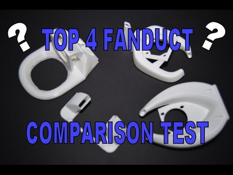 TEVO Tarantula - TOP 4 Fanduct comparison test