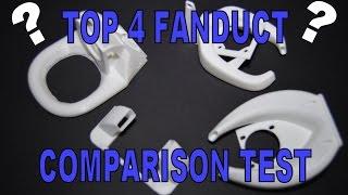 TEVO Tarantula - TOP 4 Fanduct comparison test