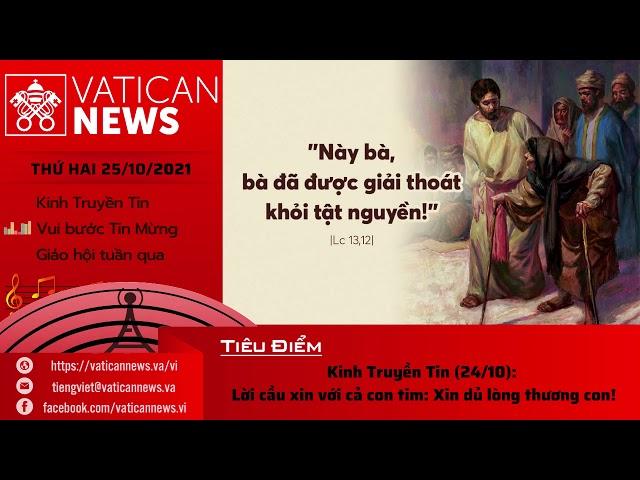 Radio thứ Hai 25/10/2021 - Vatican News Tiếng Việt