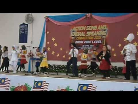 Action Song Presentation By SK Jalan 3 BBBangi Part 1