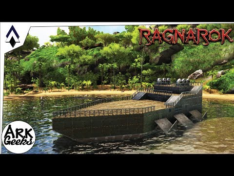 Raft/Yacht modded build - The Grimm Tide : Ep31 : Geeks Patreon Server : ARK Gameplay