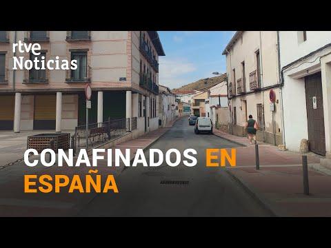 ZONAS de MADRID y MURCIA cerca de la VUELTA a la CUARENTENA I RTVE