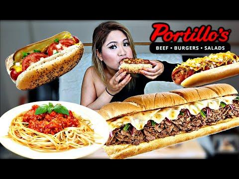 PORTILLO'S (MUKBANG)