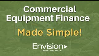 Commercial Equipment Financing