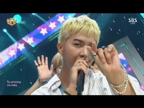 WINNER - 'LOVE ME LOVE ME' 0827 SBS Inkigayo