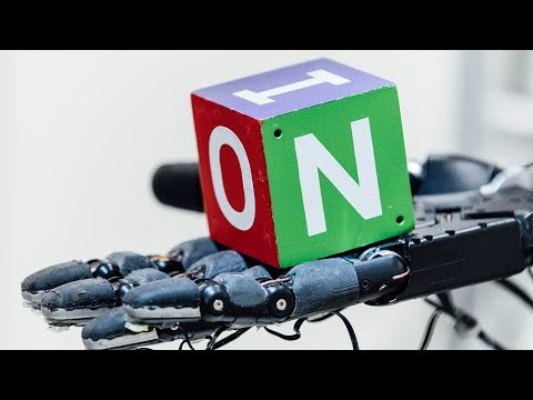 Watch a robot hand learn to manipulate objects just like a human hand