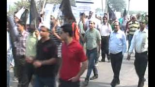 GFWA Protest against Haryana Administration Part 2 Rally on NH