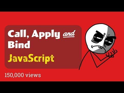 javaScript call apply and bind