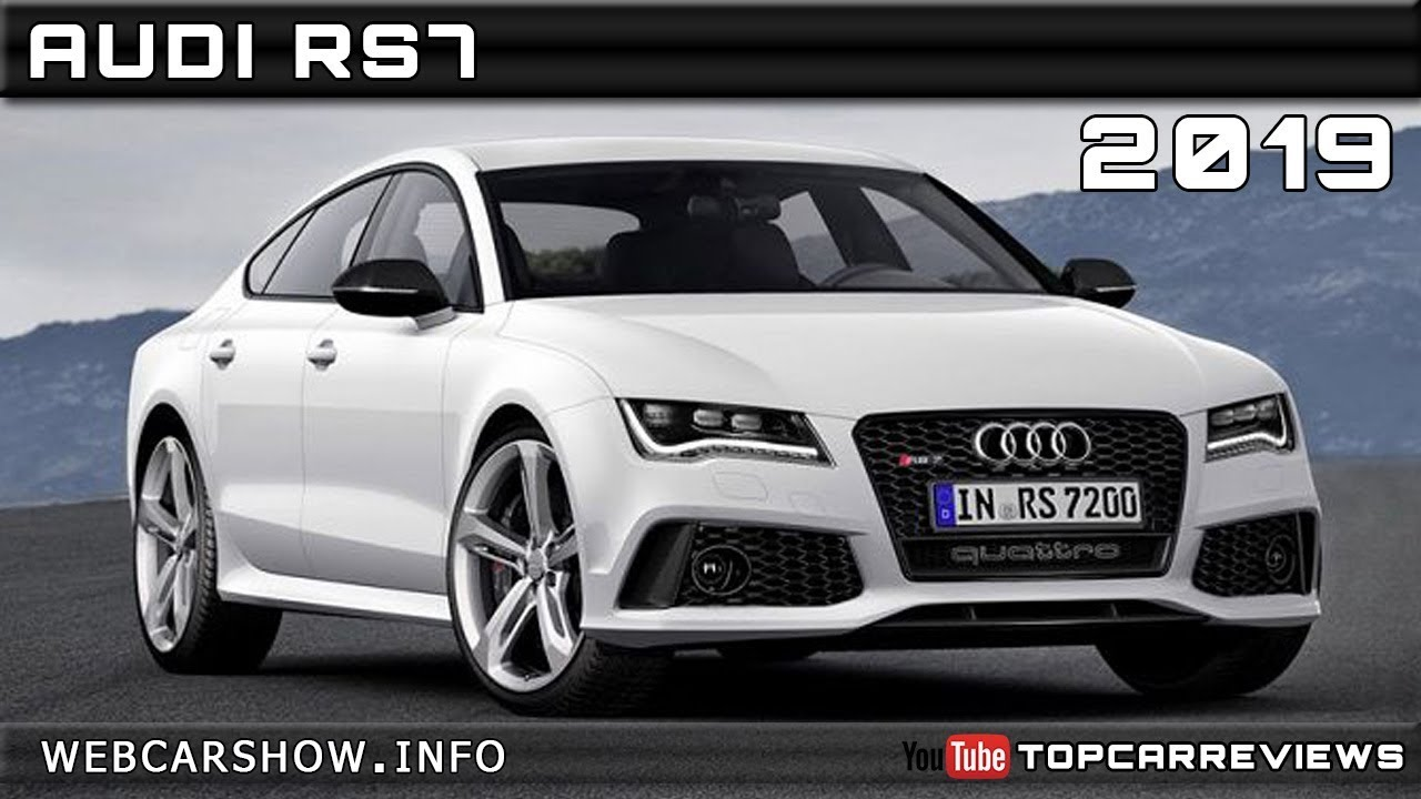 2019 audi rs7 review rendered price specs release date