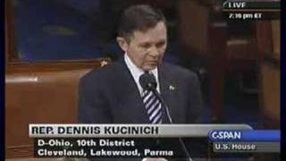 Kucinich: Articles of Impeachment 1.