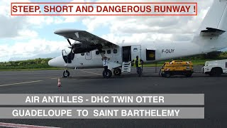 AIR ANTILLES   GUADELOUPE TO SAINT BARTHÉLEMY   DHC TWIN OTTER   TRIP REPORT