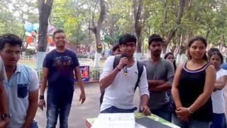 Essel world Mumbai singing Karaoke