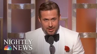 What To Expect At The 2018 Golden Globes | NBC Nightly News