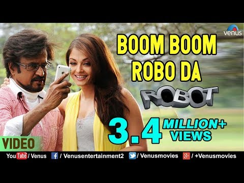 Boom Boom Robo Da  Rajinikanth & Aishwarya Rai  Robot  Bollywood Hindi Song
