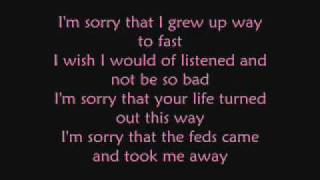 sorry put the blame on me LYRICS