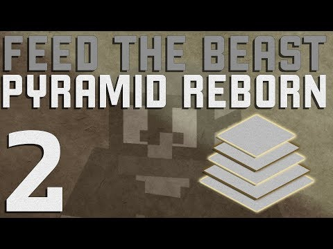 FTB Pyramid Reborn 1.12+ Minecraft - Ep. 2 - The Generators
