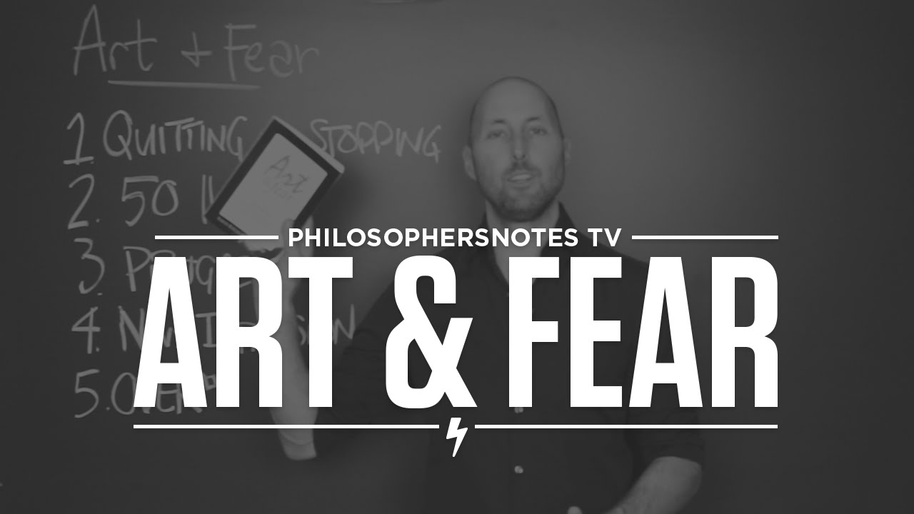 Art & Fear by David Bayles and Ted Orland - YouTube